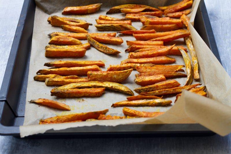 süßkartoffel pommes knusprig