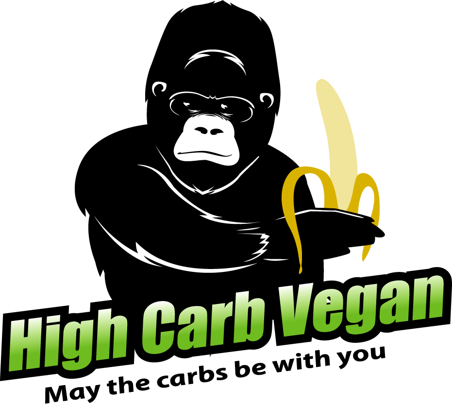 High Carb Vegan Logo